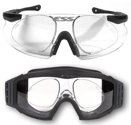 827fddb523f66 Tactical Advantage Product  Eye Safety Systems (ESS) Vice Wire   P-2B Nylon RX  Prescription Inserts