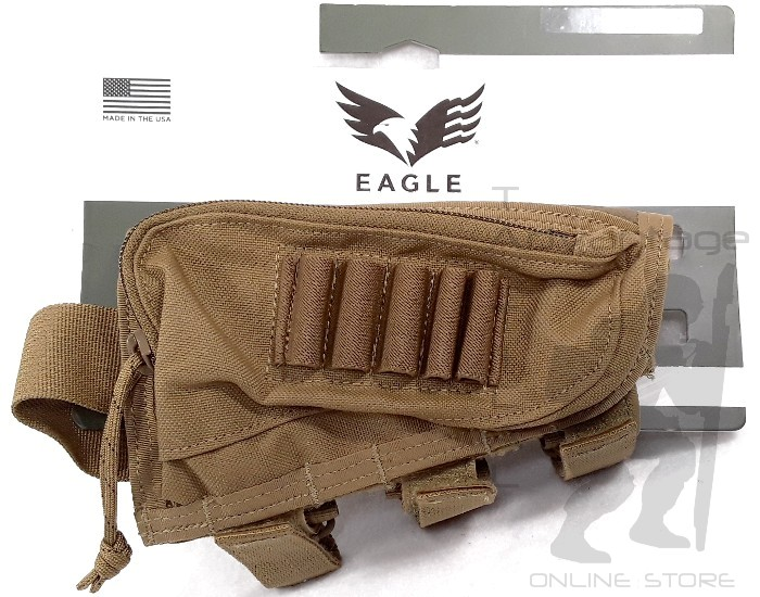 Eagle Industries Shooter/'s Rifle Stock Pad coyote or multicam